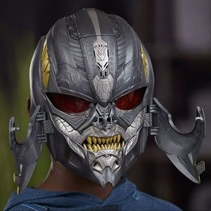 Megatron mask battery operated voice prompted